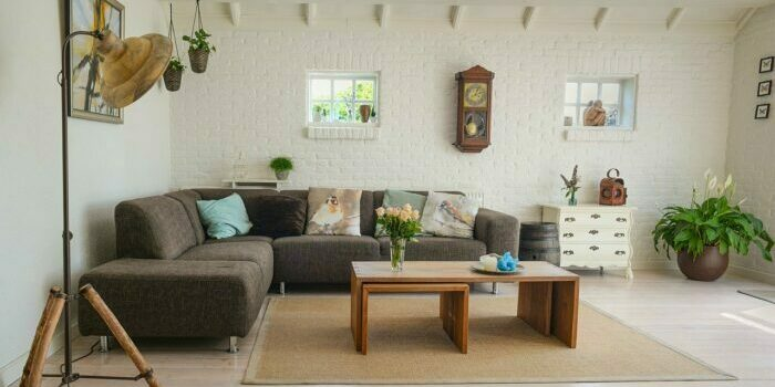 Living room furniture to be relocate by furniture movers Austin.