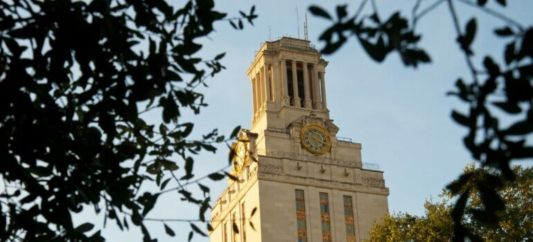 the university of Austin building