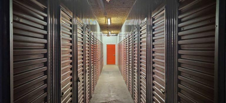A view of storage Austin TX