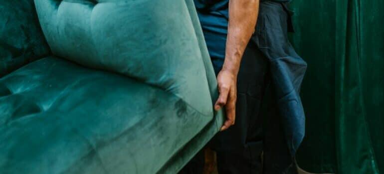 professional handling storing furniture