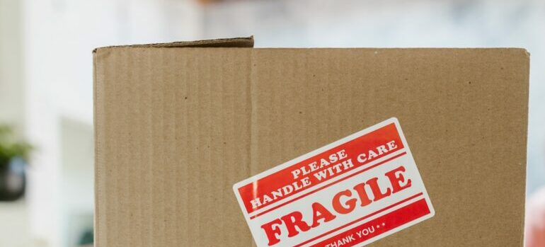 moving boxes to prepare your valuable items for relocation